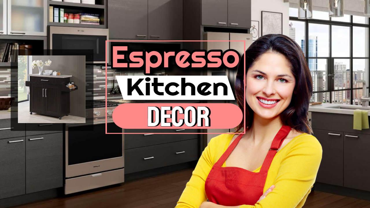 "Image text: ""Espresso kitchen decor""."