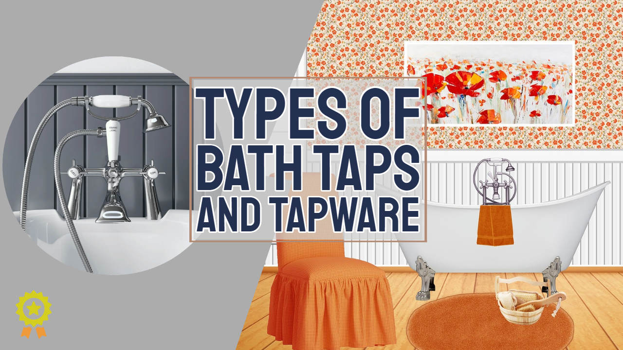 "Image text: ""Types of bath taps""."