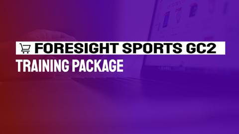 Foresight Sports GC2 Training Package