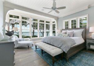 ceiling fan installtion bedroom